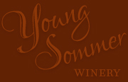 Young Sommer Winery lettering